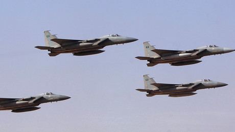 Royal Saudi Air Force jets © Fahad Shadeed