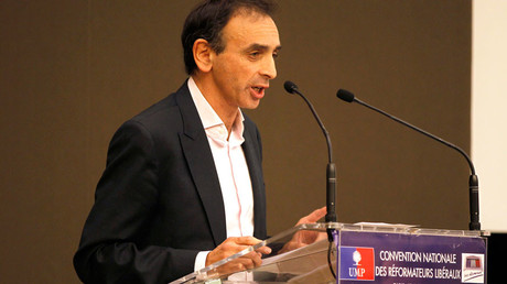French journalist Eric Zemmour © Charles Platiau