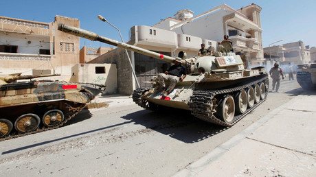 Libyan forces © Ismail Zetouni