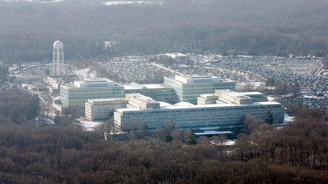 An aerial view of the U.S. Central Intelligence Agency (CIA) headquarters in Langley, Virginia © Jason Reed