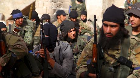 Members of Nusra Front. ©Ammar Abdullah