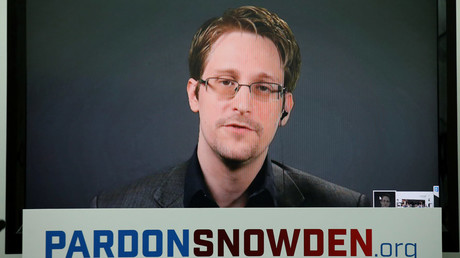 Edward Snowden © Brendan McDermid