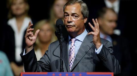 European Parliament Nigel Farage © Carlo Allegri