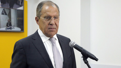Russian Foreign Minister Sergei Lavrov © Sputnik