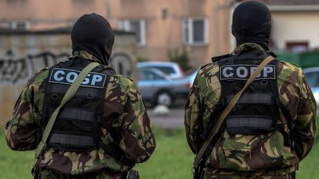 Russian Rapid response task force. © Alexei Danichev
