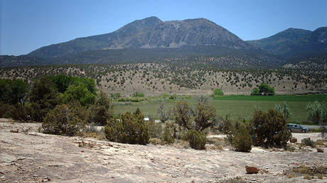 Ute Mountain, of the Sleeping Ute Mountain range. © Nationalparks