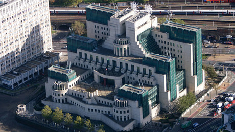 A general view of the MI6 headquarters in London © Kieran Doherty