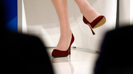Go sexy or go home: British women feel pressured to wear heels and makeup at work
