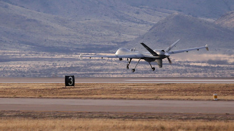 FILE PHOTO MQ-1 Predator  © John Moore