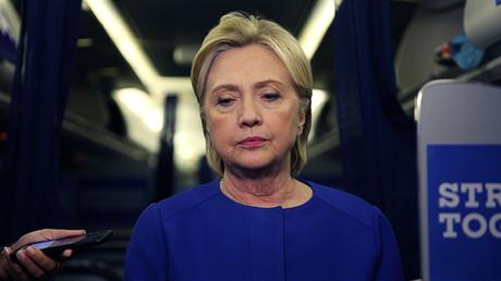 Democratic nominee Hillary Clinton © Carlos Barria