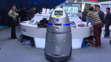 Just like sci-fi: Robots to greet travelers in Tokyo Airport (VIDEO)