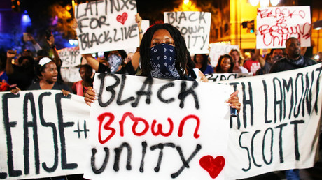Charlotte protesters march on highway in 4th night of demonstrations