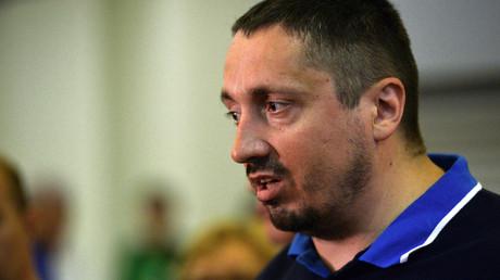 Alexander Shprygin, head of the All-Russian Supporters Association © Eugene Odinokov