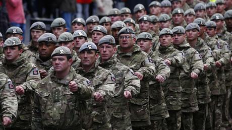 British soldiers © David Moir