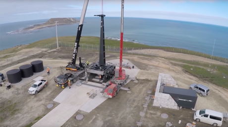 World's 1st private space launch site opens in New Zealand