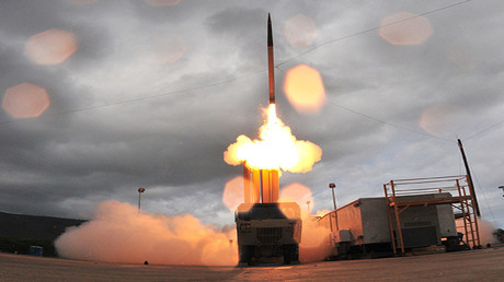 Terminal High Altitude Area Defense (THAAD). © Missile Defense Agency