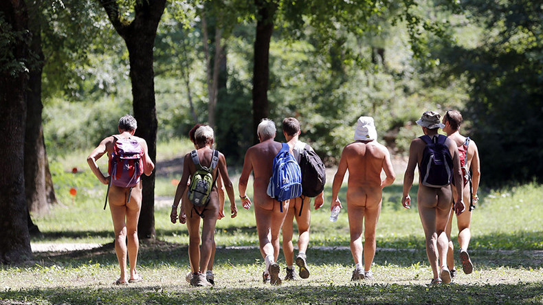 No house, no clothes, no problem: Nudist resort offers to take in displaced Loma Fire residents