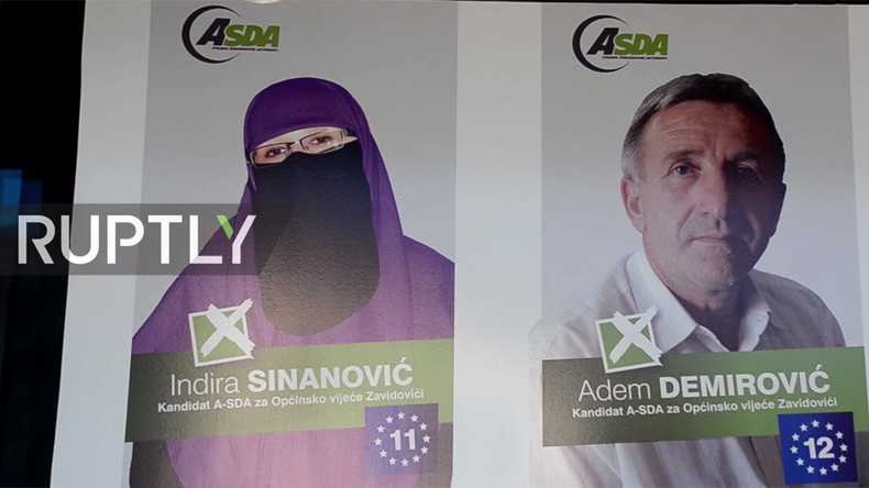 Bosnian niqab-wearing politician seeks office to 'reduce prejudice' & help poor
