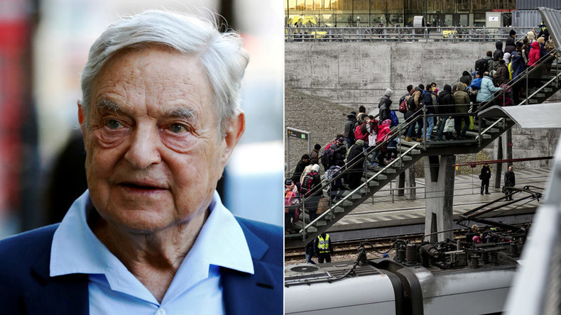 Soros to make a killing with European 'forced migration