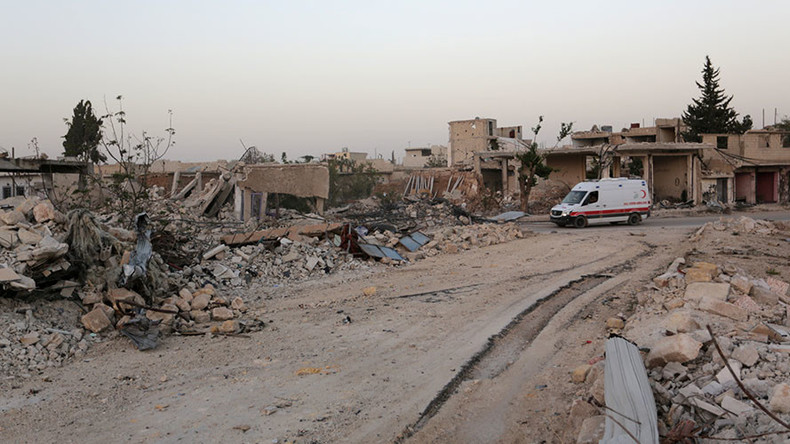 'US sanctions on Syria hamper aid efforts, help terrorists'