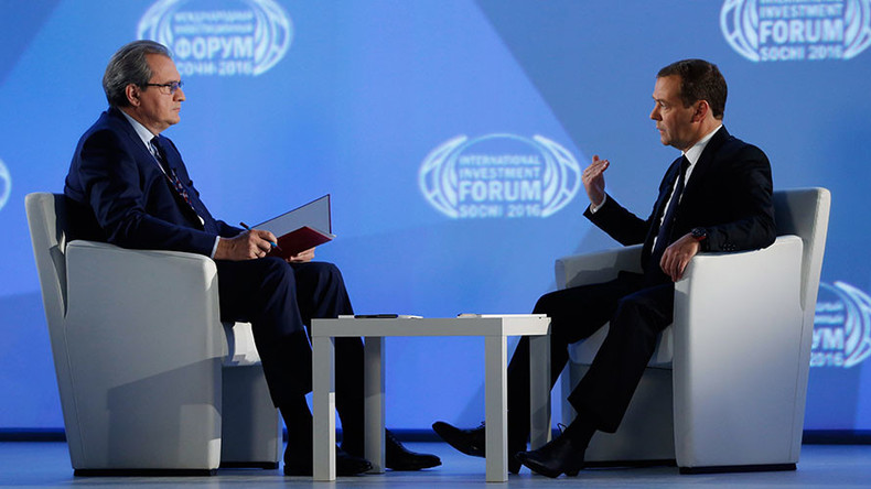 PM Medvedev pledges to stay on conservative course to protect Russian living standards