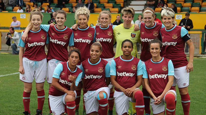 West Ham FC accused of discrimination against its own women's team