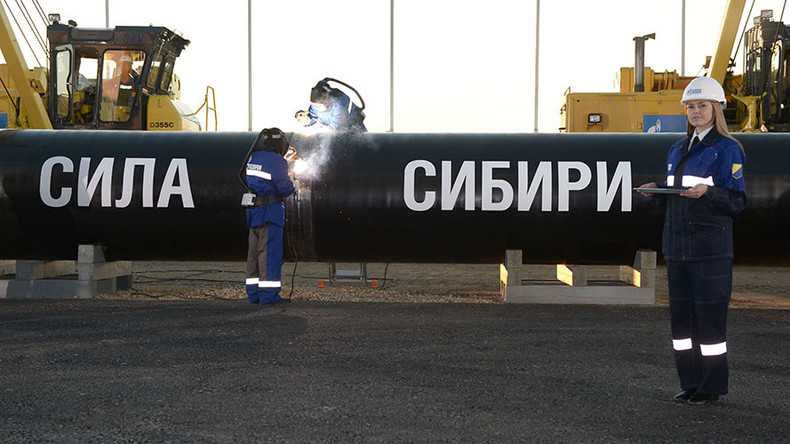 Piped supplies of Russian gas to China start in 4yrs