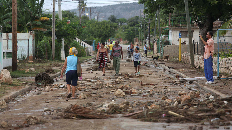 Hurricane Matthew hits Cuba hours after slamming Haiti (PHOTOS, VIDEOS)