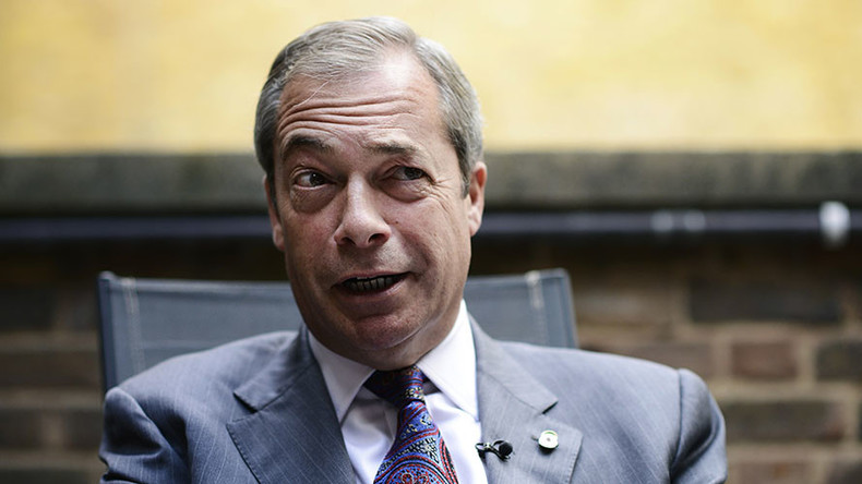 Farage admits he's technically still UKIP leader as new head resigns after just 18 days