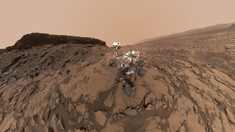 NASA's Curiosity wows followers with selfie, 360 view of Martian 'buttes'