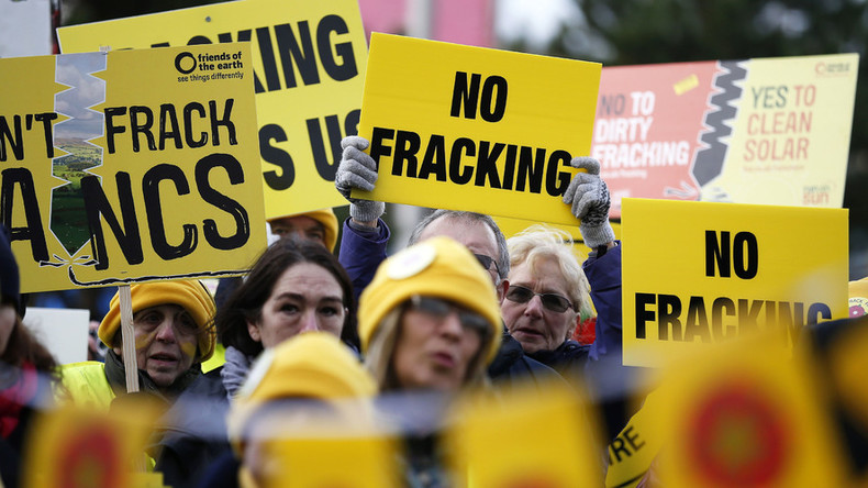 Fracking gets go ahead, as govt overrules locals in 'denial of democracy'