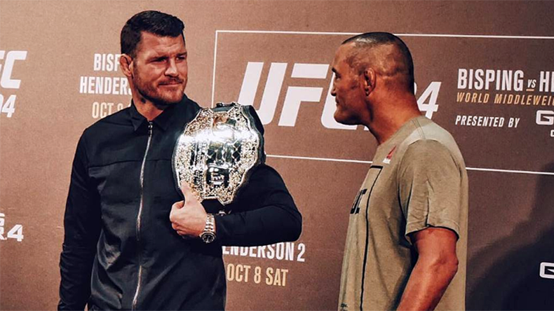 Michael Bisping ready for revenge on home soil at UFC 204
