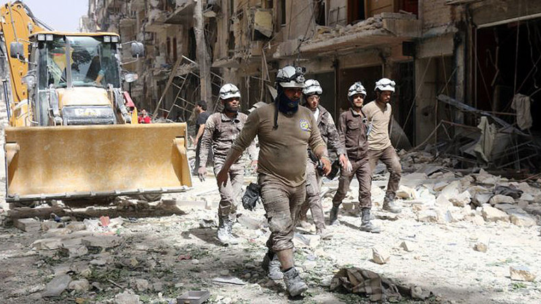 'Massive evidence foreign-funded White Helmets  support terrorist entities in Syria'
