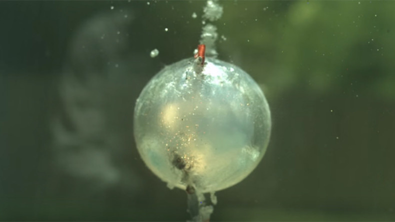 Mesmerizing slow mo footage shows underwater explosions in stunning detail (VIDEO)