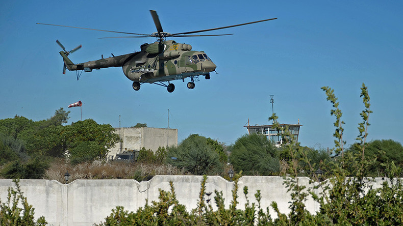 Russian chopper carrying aid comes under ISIS fire over Hama, Syria – military