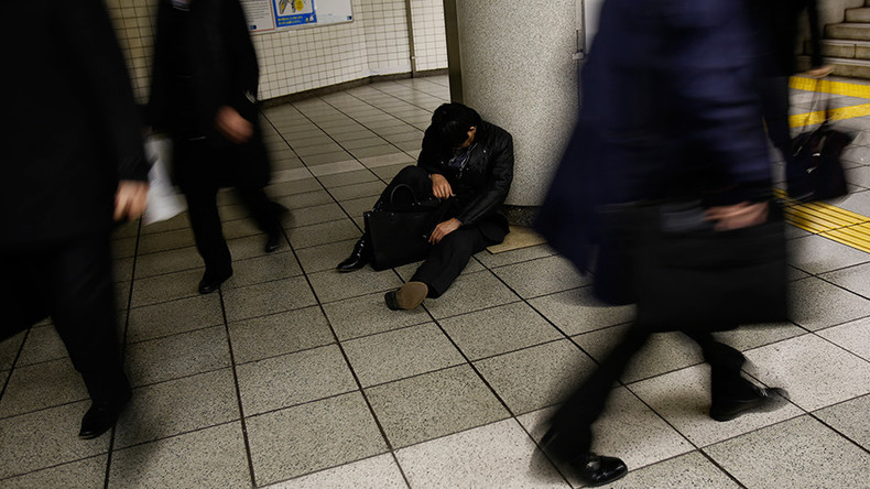'Karoshi': 20% of Japanese employees risk death from overwork, survey shows