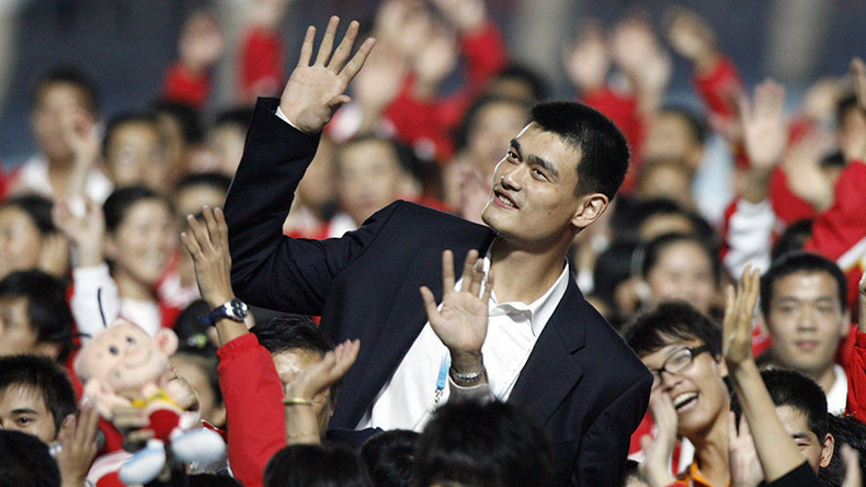 Space Jam: China appoints basketball star as ambassador to Mars