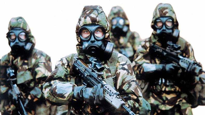 Image result for chemical warfare masks prepare