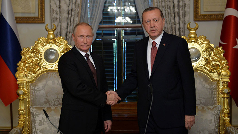 Turkish Stream gas pipeline: Moscow & Ankara sign agreement in Istanbul