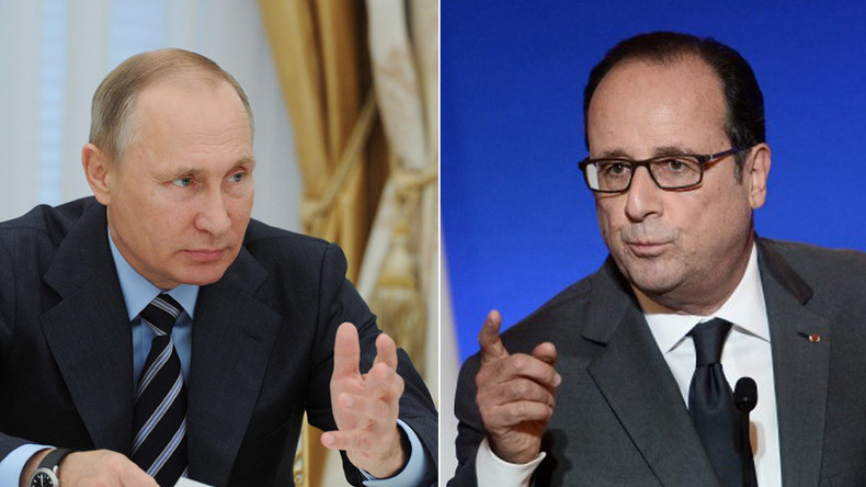 'US lackey': French politicians blast Hollande for reluctance to meet with Putin