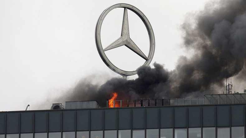 Fire breaks out in Berlin's landmark Europa-Center tower