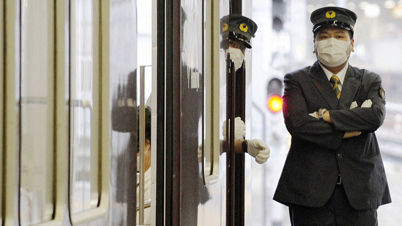 Japanese train conductor rails against foreigners for overcrowding