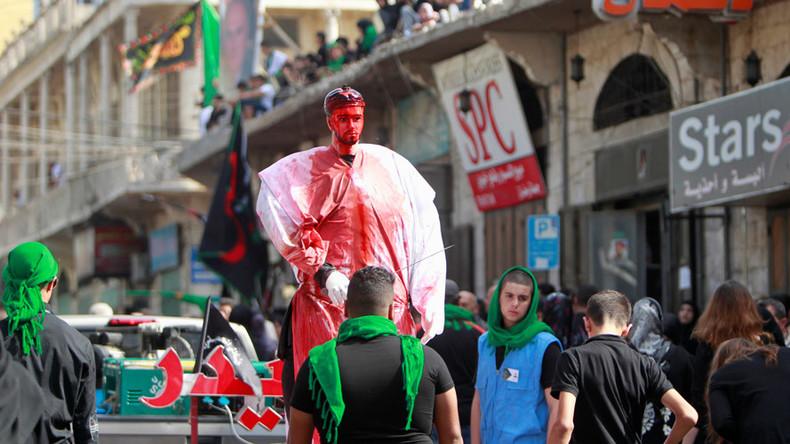 Shia Muslims mark religious festival of Ashura with prayers and self-flagellation (PHOTOS, VIDEO)