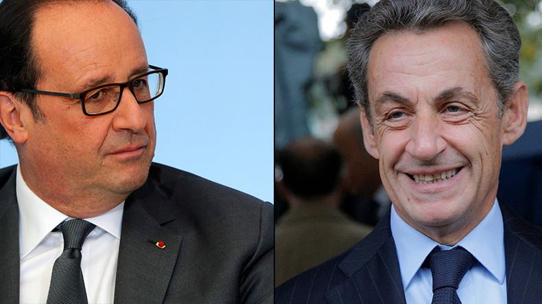 Sarkozy blasts 'irresponsible' Hollande after Putin cancels visit