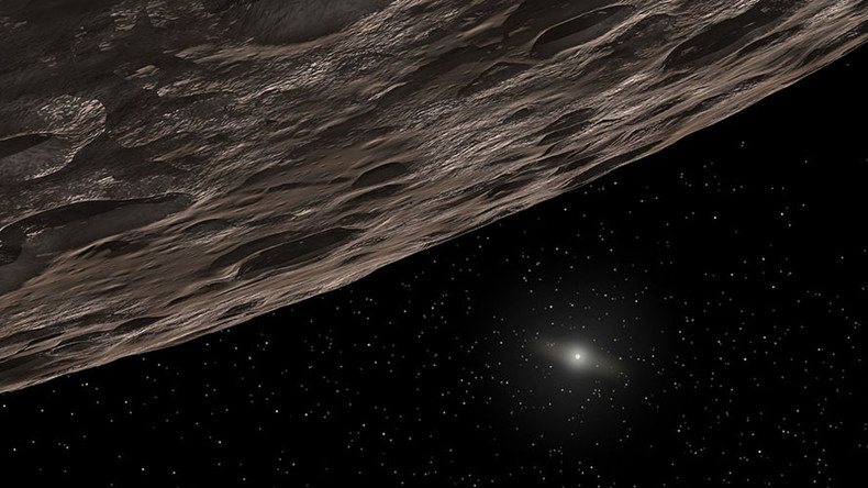 New dwarf planet discovered on edge of solar system