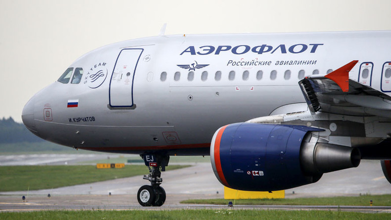 Aeroflot plane in Geneva searched for explosives, man arrested following bomb threat