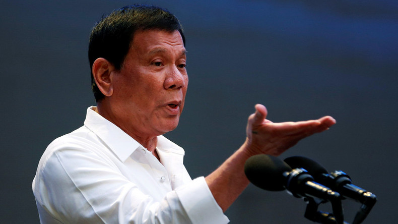 'I'll play with you in public': Duterte challenges West to confront drugs crackdown