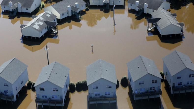 Drone footage shows total devastation of Hurricane Matthew in N. Carolina (PHOTOS, VIDEOS)