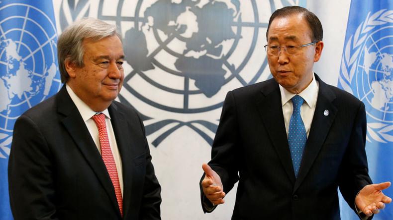 New UN chief Guterres urges US-Russia reconciliation
