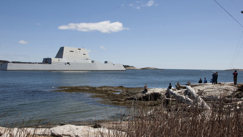 Ship for Batman: US Navy commissions 'quantum leap' stealth destroyer